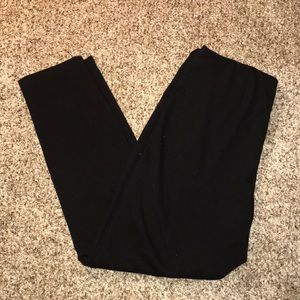 🔥New York & Company Black Leggings - L